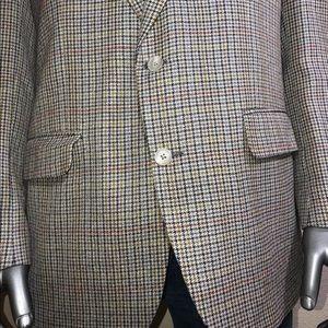 Burberry Suits & Blazers - Burberry Mens Plaid Two Button Blazer
